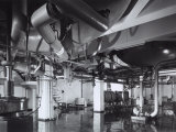 Inside of the Miani Factory of Naples, Where Peroni Beer is Produced Photographic Print by A. Villani