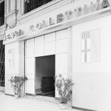 Collective Cafeteria in the Former Village of the Fascist Revolution, Bologna Photographic Print by A. Villani