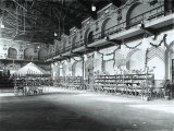 Interior of the Ginnastica Triestina Gymnasium Decorated for a Charity Party Photographic Print by Carlo Wulz