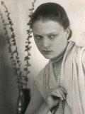 Portrait of Wanda Wulz Photographic Print by Carlo Wulz