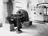 Plant Inside the Compagnia Generale Dell'Elettricita Photographic Print by Carlo Wulz