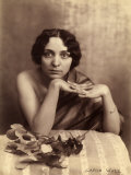 Portrait of a Young Woman Seated Photographic Print by Carlo Wulz