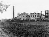 Oleifici Triestini Company in Zaule Photographic Print by Carlo Wulz
