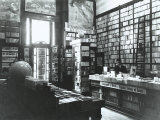 Interior of the Bemporad Bookstore, Trieste Photographic Print by Carlo Wulz