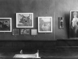 La Permanente Room with the Personal Exhibition of the Painter Glauco Cambon Photographic Print by Carlo Wulz