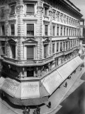 Building with the S. Olher and Co. Shops, Trieste Photographic Print by Carlo Wulz