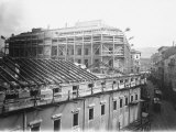Construction of the Roof of a Building Photographic Print by Carlo Wulz