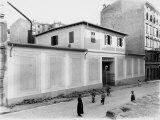 Exterior of the Frigoriferi Triestini S.A. Company of Trieste Photographic Print by Carlo Wulz