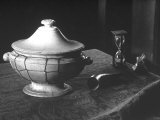 Old Soup Tureen Photographic Print by Carlo Wulz