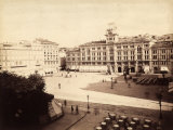 View of the Town Hall in Trieste Photographic Print by Giuseppe Wulz