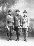 Three Officials in Military Uniform Photographic Print by Carlo Wulz