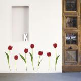 Tulpen Wandtattoo