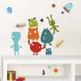 Monsters Wall Decal