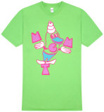 Mgmt - Green Soft Serve T-shirts