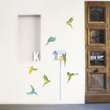 Parakeets Wall Decal