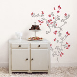 Japanese Cherry Tree Kalkomania ścienna