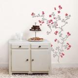 Cerejeira japonesa Adesivo de parede