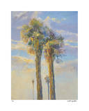 Palm Springs Sunset II Giclee Print by David Harris