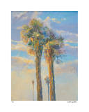 Palm Springs Sunset I Giclee Print by David Harris