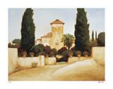 Palermo Villa Giclee Print by Robert White