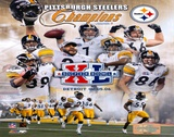 Steelers Super Bowl Composite Prints