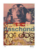 Daschund Hot Dog Limited Edition by M.J. Lew