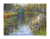 Spring Reflections II Giclee Print by Carol Buettner