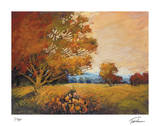 Sunset Path Giclee Print by Michael Tienhaara
