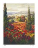 Fields of Italia II Giclee Print by Roberto Lombardi