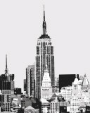 Vintage New York I Print by Boyce Watt
