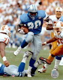 Barry Sanders - Action Poster