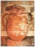 Vase Rouge II Posters by Pascal Amblard