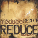 Reduce Posters by Wani Pasion