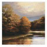 Tranquil River Bend Art by Robert Striffolino