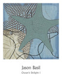 Ocean's Delight I Prints by Jason Basil