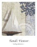 Sailing Adventure I Art by Tandi Venter