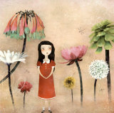 Mon Jardin Secret Posters by Anne-julie Aubry