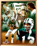 Joe Namath - Legends Of The Game Composite - ©Photofile Prints