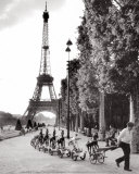 La Cavalerie du Champs de Mars Prints by Robert Doisneau