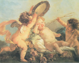 Festa di Putti Art by L. Boucher
