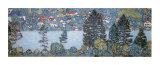 Berghang in Unterach Poster von Gustav Klimt