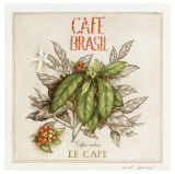 Le Cafe Prints by Vincent Jeannerot