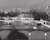 La Seine, Paris Poster af Jean Claude Gautrand