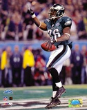 Brian Westbrook - Super Bowl XXXIX - 10 Yard Touch Down Pass Celebration Posters