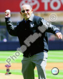 Yogi Berra Ceremonial 1st Pitch 2009 Yankee Stadium Inaugural Game Photo