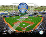 Kauffman Stadium - 2009 With 40th Anniversary Photo