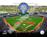 Kauffman Stadium - 2009 With 40th Anniversary Photo