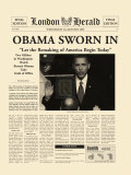 Obama Sworn In Posters