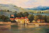 Lago d'Palazzo Prints by Kanayo Ede
