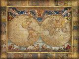 Terrarum Orbis Posters av John Douglas